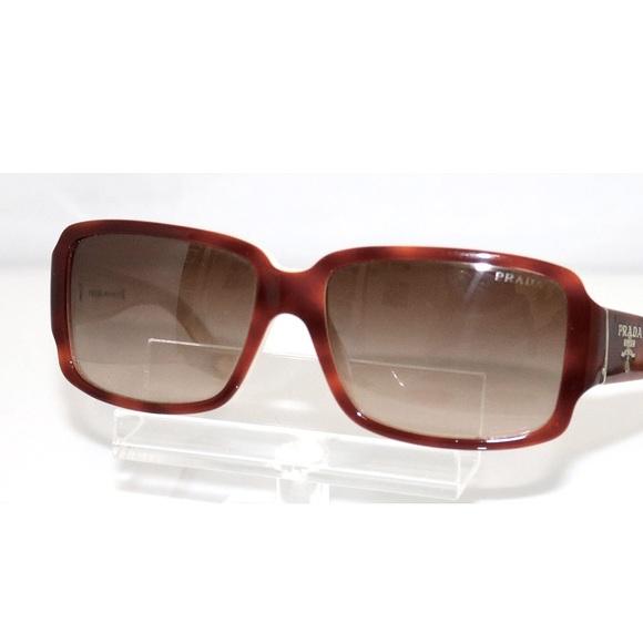 Prada SPR 32N ACN-651 Havana Sunglasses Women